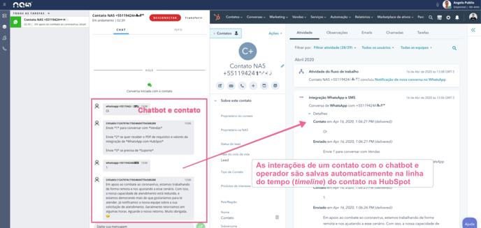 conversa-chatbot-operador-whatsapp-salva-automaticamente-hubspot