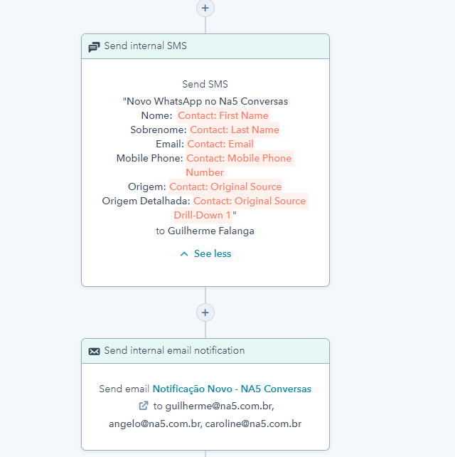sms-email-workflow-na5-conversas-notificacao