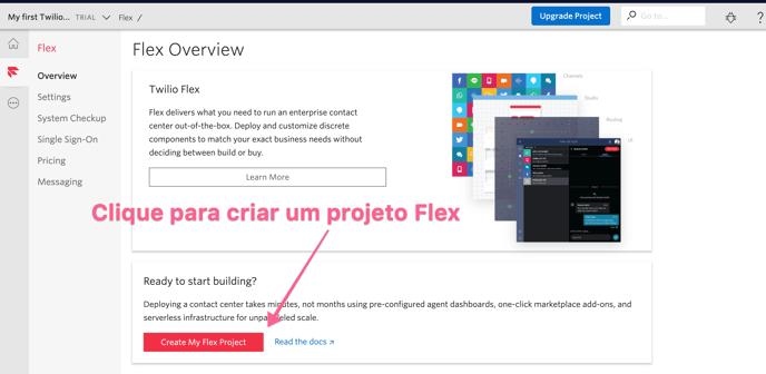 clique-para-criar-um-novo-projeto-twilio-flex