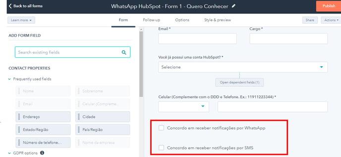 forms-optins-whatsapp-sms-hubspot